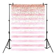 Neoback Bokeh Foto Achtergrond Verjaardag Achtergrond Party Achtergronden Levert Props Shiny Roze En Witte Strepen Achtergronden Studio