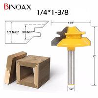 Binoax 1 4 1 3 8 2 Bit Tongue And Groove Router Bit Set Woodwork Cutter