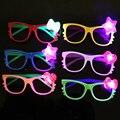 3 шт./лот KT Cat kid игрушки Свет До очки светящиеся внезапные игрушки творческий новый своеобразный Ночь Рейв Костюм Партии случайным цвета