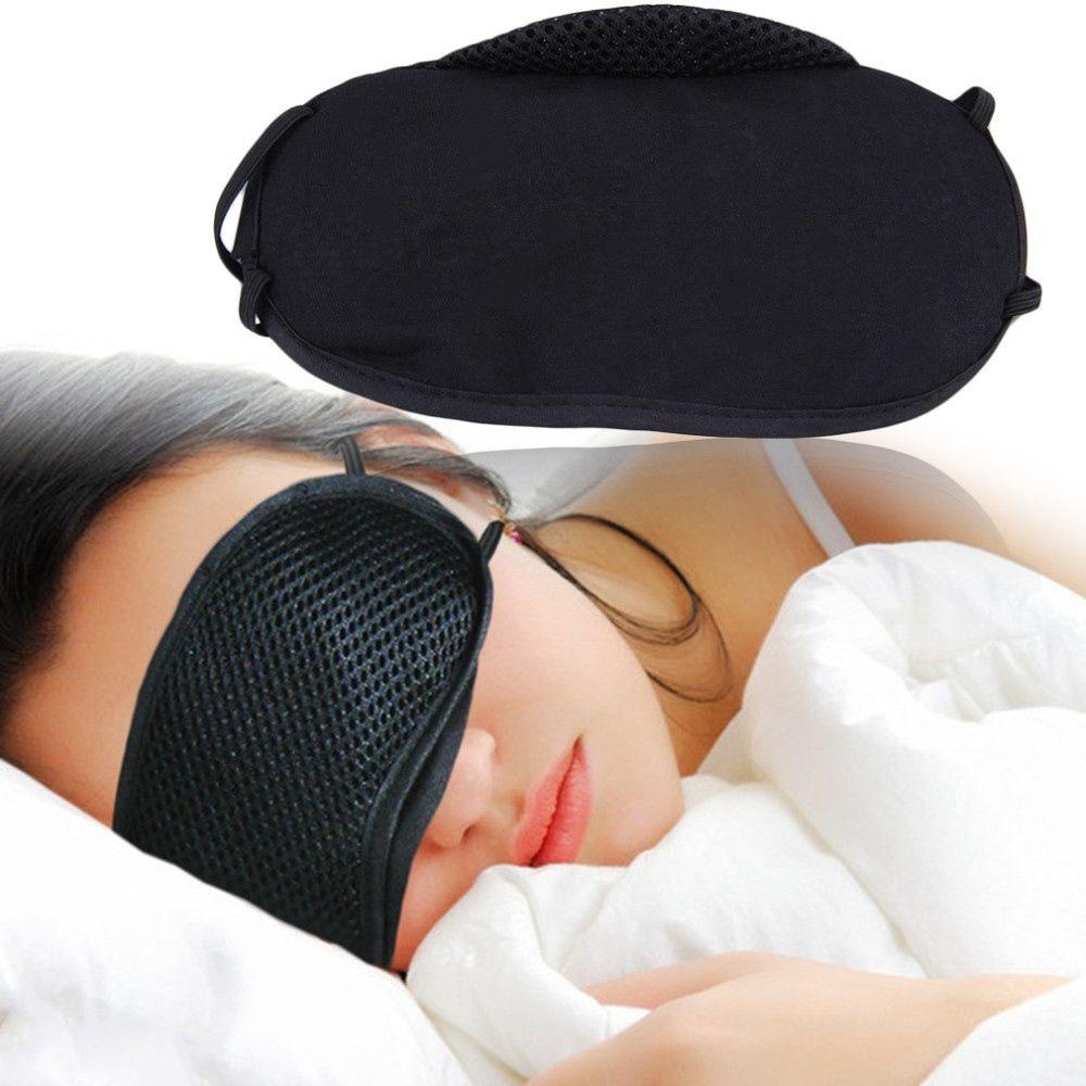 1 Pc Schlaf Augen Maske Atmungs Bambus Holzkohle Reiner Baumwolle Schlaf Maske Reise Zubehör Augenklappe Auge Pflege Werkzeuge SchöNer Auftritt