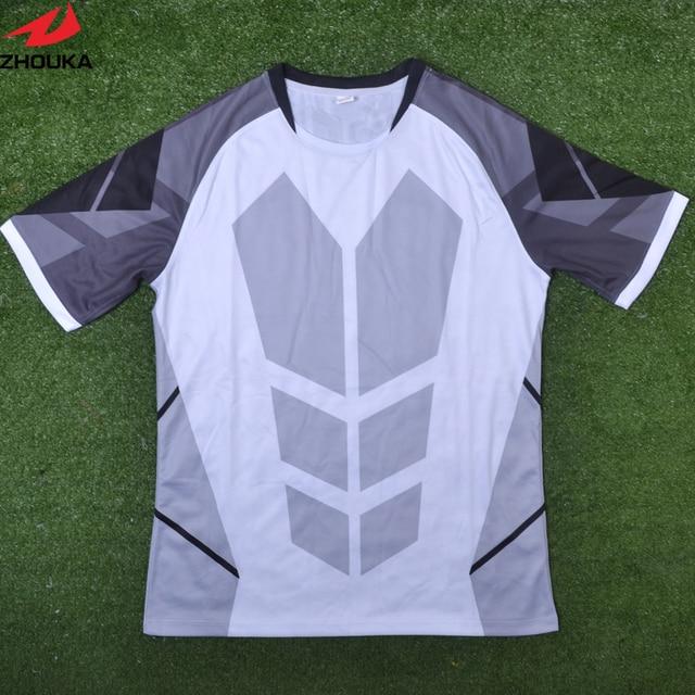 Customized professional wholesale soccer jersey Club football practice  jerseys football jersey pattern kids football kits 5a13edd61bed