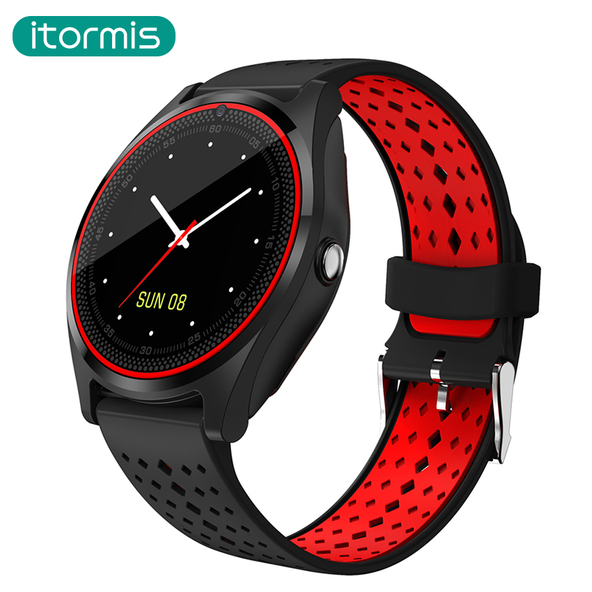 itormis Bluetooth Smart Watch Phone Smartwatch Sport SIM Card with Color Screen Camera BT Message Pedometer PK A1 GT08 DZ09 Q18 1 6 screen stainless steel bluetooth 3 0 sim camera hd dv recording pedometer 4g memory smart watch phone security msn p20