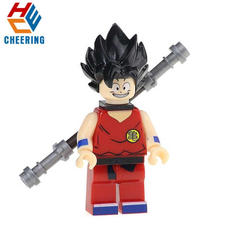 Blocos de construção de Super Heróis Joker Esqueleto Arma X-men Goku Ele Homem KF6021 Tijolos Brinquedos Para As Crianças