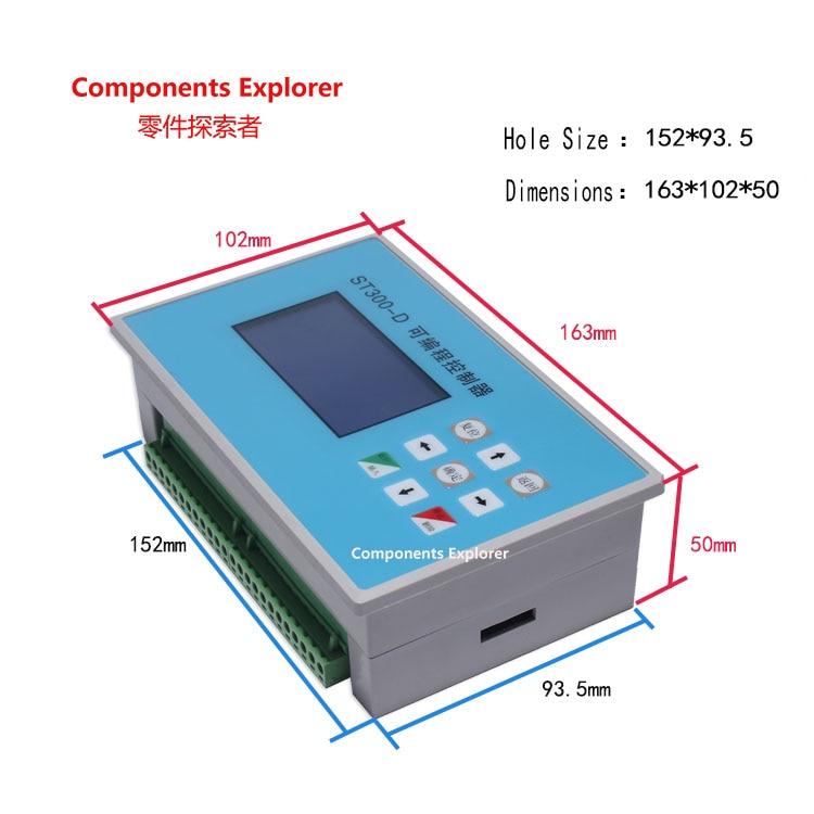 ST300-D deux-axe pas à pas servo moteur contrôleur 2-liens axe programmable cylindre électrovanne/plaque d'entraînement