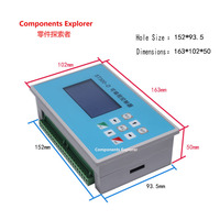 ST300 D two axis stepper servo motor controller 2 axis linkage programmable cylinder solenoid valve / drive plate