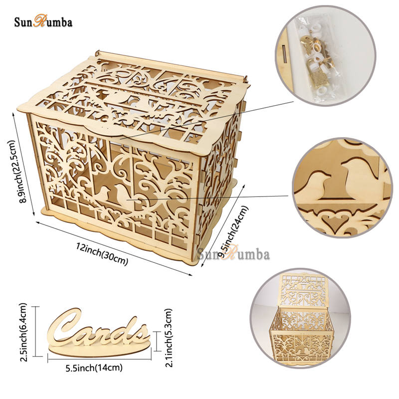 Wedding card box MUW-332-09