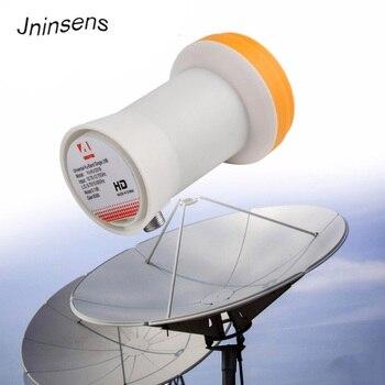 цена на Super HD Best Signal Digital KU LNB Satellite Receiver Universal KU For Band Single LNB Waterproof High Gain Satellite Dish LNB