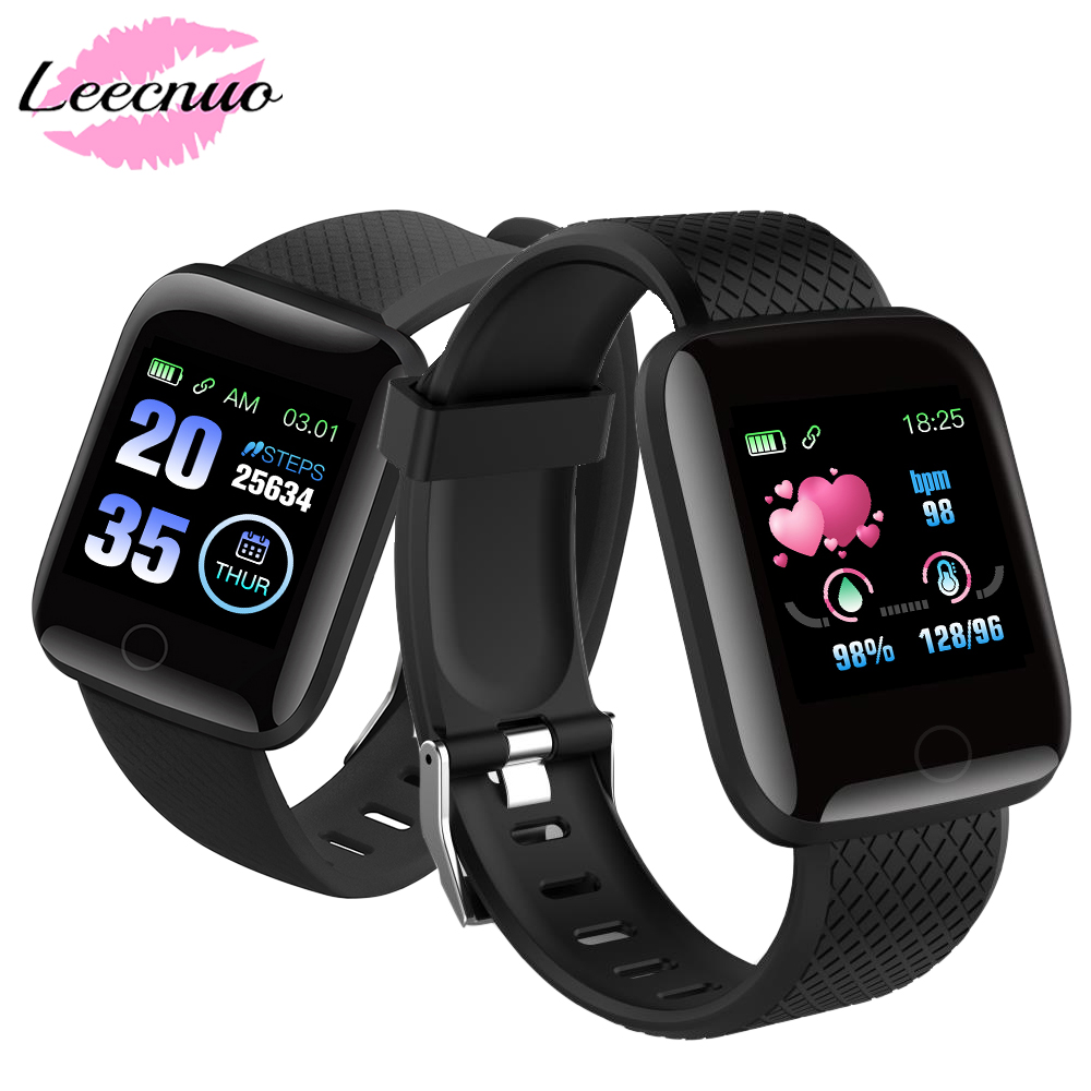 Digital Wristwatches Fit-Bit Sports-Bracelet Smart-Wristband Multifunctional 116plus