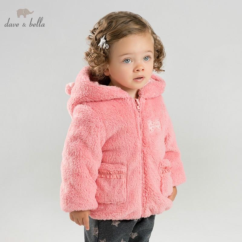 DBM8587 dave bella winter baby padding jacket children boys fashion outerwear kids solid coat