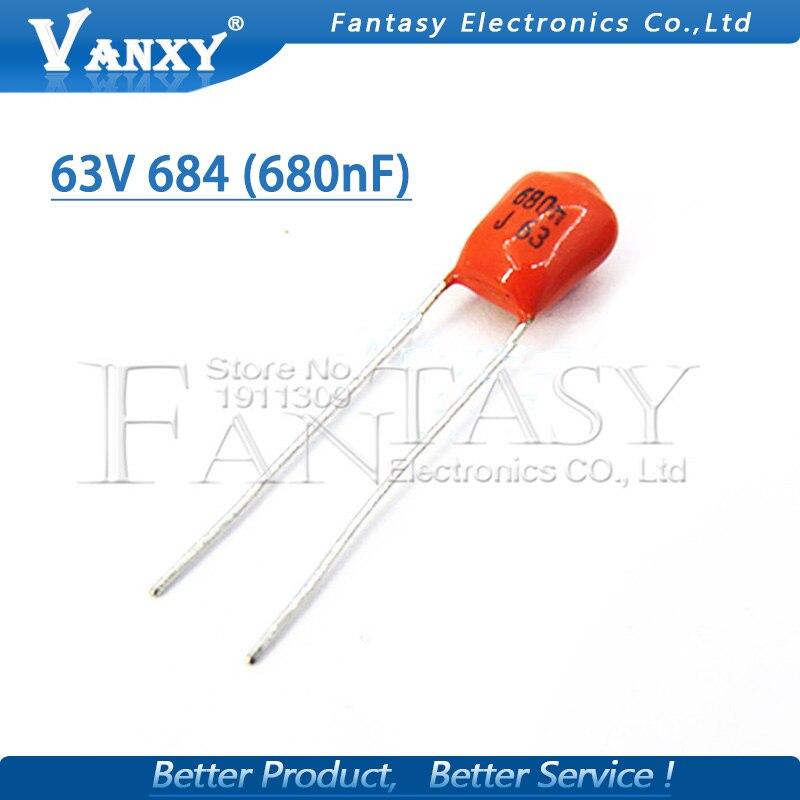 100pcs//lot Multilayer Ceramic Capacitor 471 50V 470pF 471J P=5.08mm