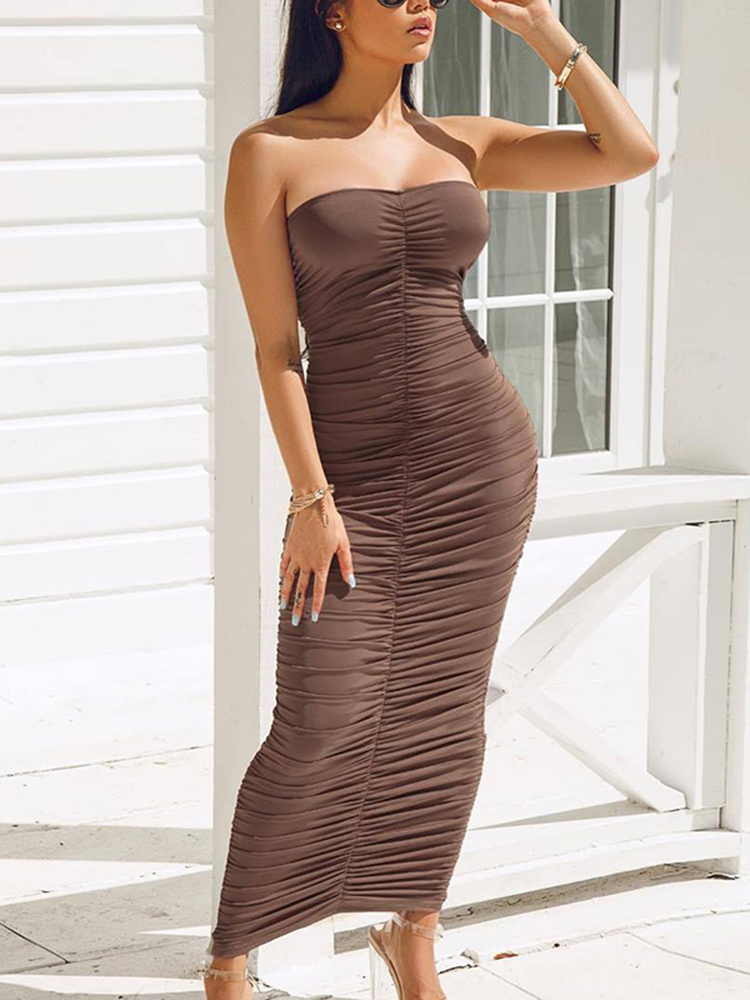Bodycon maxi dress as seen on tv