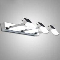 Зеркало LED лампы шкаф настенный светильник современный минималистский ванной водонепроницаемый Туалет Nordic макияж Настенные светильники