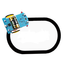 DIY Robot Smart Car Kit Intelligent Tracking Line Suite TT Motor Electronic Production Tracing Patrol RC Toy Eduaction Kit(China)