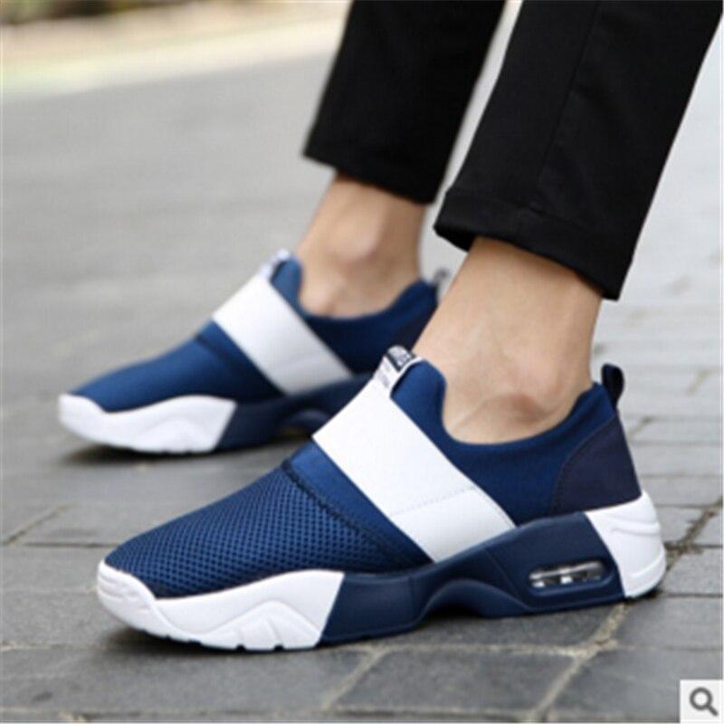 2017 Hombres de Marca zapatos Casuales Unisex hombres de amortiguación Del amort