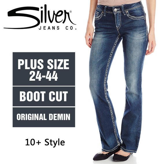 Aliexpress.com : Buy 100% Original Silver Jeans Woman Boot Cut ...