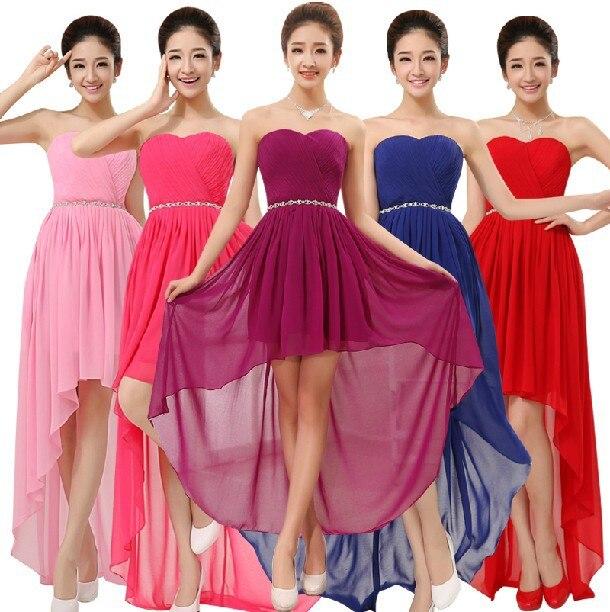 Popular Pink Purple Bridesmaid Dresses-Buy Cheap Pink Purple ...