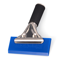 EHDIS BlueMax Handle Rubber Squeegee House Car Cleaning Tools Window Tint Tools Glass Kitchen Water Wiper Remover Ice Scraper