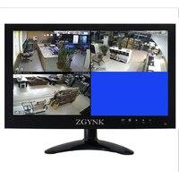 12.1 inch widescreen Four channels HD IPS LCD VGA BNC1 BNC2 BNC3 BNC4 interface monitor