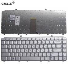 GZEELE Laptop Keyboard for Dell 1400 PP22L 1318 1545 PP29L 1520 1525 PP26L 1521 1526 500 PP14L PP41L M1530 RU RUSSIAN silver NEW