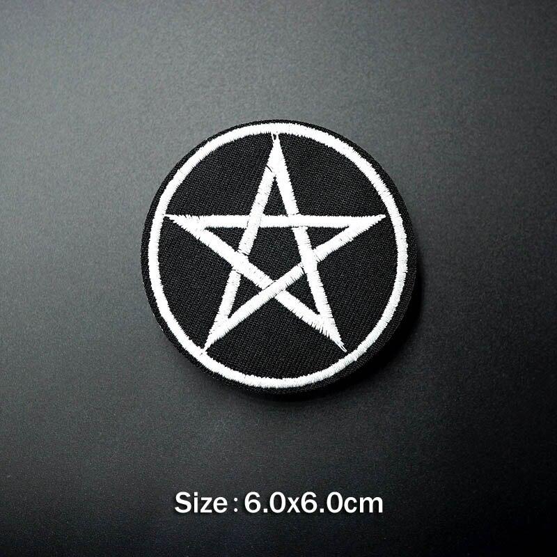 Удивительные Значки для обуви на молнии со звездами, сделай сам, для украшения одежды, нашивки для одежды - Цвет: S