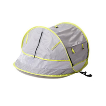 MrY Baby Travel Bed, Portable baby beach tent UPF 50+ Sun Shelter, Baby Travel Tent Pop Up Mosquito Net