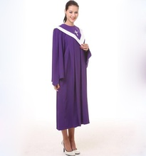 American and European standard christian costumes for adults psalm robes long church clothing black friday white robe