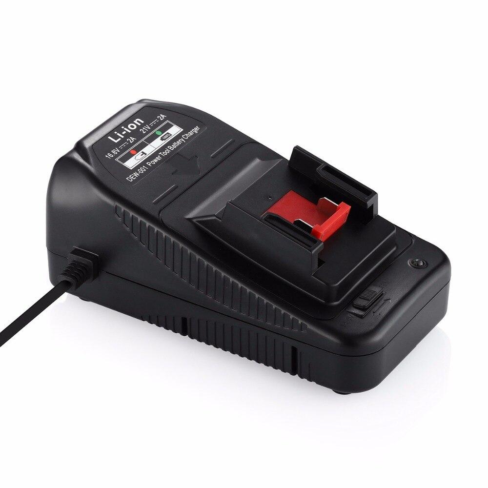 Powerextra Батарея Зарядное устройство для <font><b>Dewalt</b></font> аккумуляторные инструмент Li-Ion Батарея 18 В 14.4 В 20 В DCB140 XR DCB140-XJ DCB180 DCB181