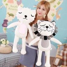 лучшая цена Soft Stuffed Animals Instagram Cat Plush Toys Pillow Animal Lion Plush Kawaii Doll Cotton Girl Brinquedo Toys for Children