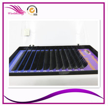Best selling! in stock 20 trays/lot 0.15/0.20mm J/B/C/D curl Ellipse flat eyelash extension False eyelashes