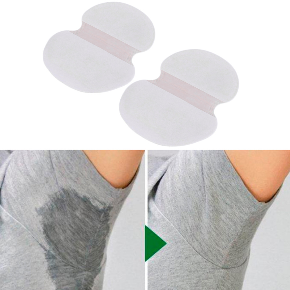 1 Pair Underarm Armpit Sweat Pads Shield Absorbing Disposable Dress Clothing Shield Absorbing Deodorant Antiperspirant Sweat Pad