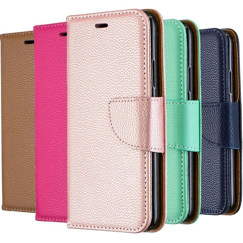 Luxury <font><b>Case</b></font> For <font><b>Samsung</b></font> Galaxy A10 A20 A30 A40 A50 A70 <font><b>M10</b></font> M20 M30 S10E S10 S9 A6 J4 J6 Plus A7 2018 Retro Litchi Cover Bag P07Z image