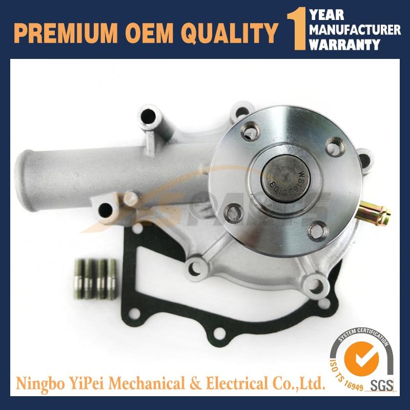For Kubota Engine V1505 Water Pump B21 B26 B2630 B2710 F2560 F3080 16251 73034