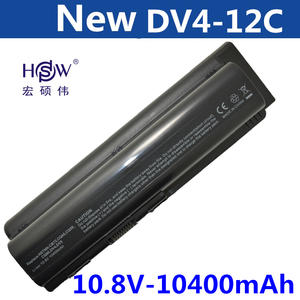 HSW New 12 Cell Laptop Battery For HP Pavilion DV4 DV5 DV6 battery HSTNN-IB72 HSTNN-LB72 HSTNN-LB73 HSTNN