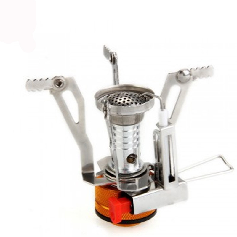 Ultra-light Portable Mini Outdoor Stoves Gas Burner Butane Propane Picnic Camping Equipment Backpacking Gas Stove Camping Stove