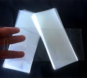 Image 4 - 새로운 스타일 베이킹 패키지 가방 투명 플랫 polybag 아이스크림 포장 가방 음식/케이크/빵 주머니 8*19 cm 200 개/가방