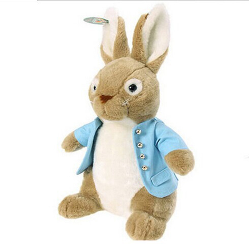 100% High Quality Retail Fashion Peter Rabbit Plush Doll Girls Plush Toys Princess Girl's Toy Gift 50cm Free Shipping 60cm new queen couple rabbit plush toy of peter rabbit doll wearing glasses rabbit doll valentine s day gift