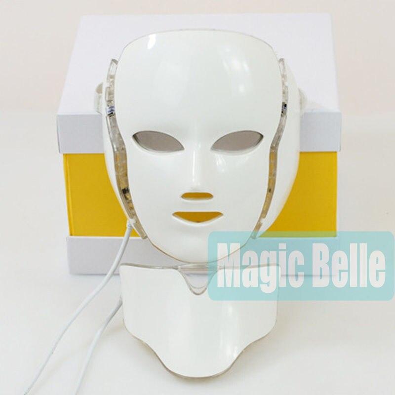 Высокое качество! 7 цветов Электронные LED маска кожи морщин продукты для клинического использования