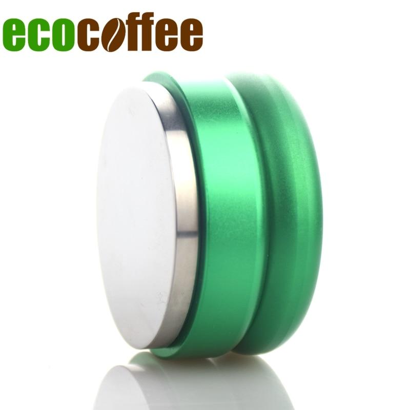 1pc Gratis frakt Profesjonell Espresso Wbc Rustfritt Stål Kaffe Tamper 58.5mm Justerbar Macaron Hammer