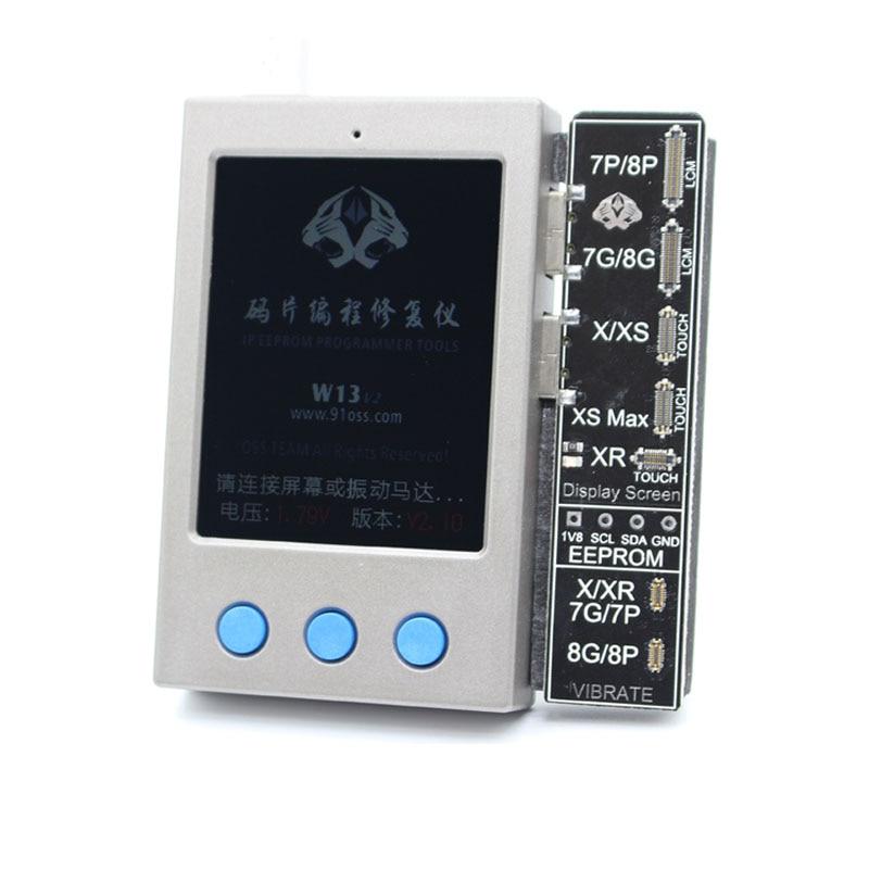 W13 LCD capteur de lumière ambiante vibrateur réparation IP affichage EEPROM programmeur pour iPhone 7-XS/XSM XR - 6