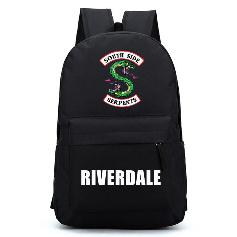 Riverdale Women Backpack Solid Schoolbag Backpack Male Solid Schoolbag Laptop Men 2018 #1