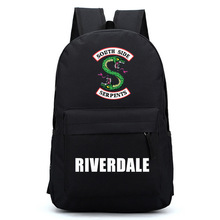 цена на Riverdale Women Backpack Solid Schoolbag Backpack Male Solid Schoolbag Laptop Men 2018
