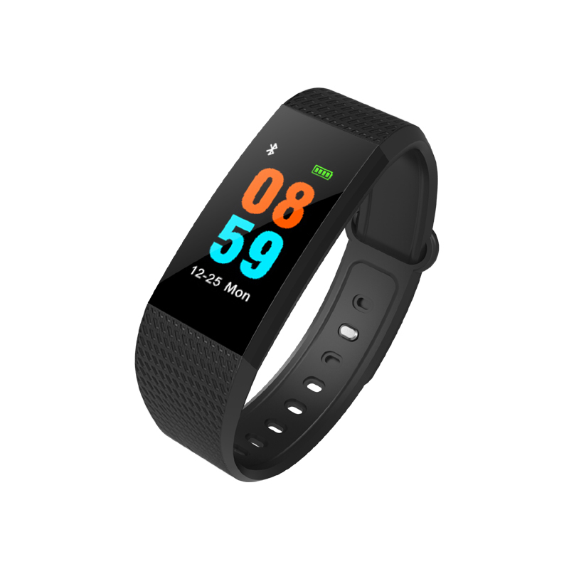 EnohpLX I9 Smart Band Color Screen IP68 Waterproof Heart Rate Fitness Bracelet