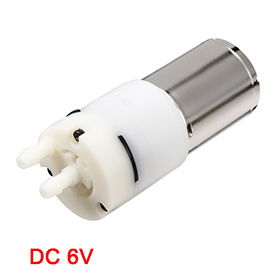 Uxcell(R) Hot Sale1Pcs DC 6V 900ml Air Pump Motor for Aquarium Tank Oxygen Circulate dc 155a915z r