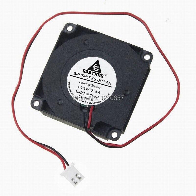 1 PCS  XQF  FAN XQF5010HBL  DC 24V 0.1A  5010 5cm  2 PIN