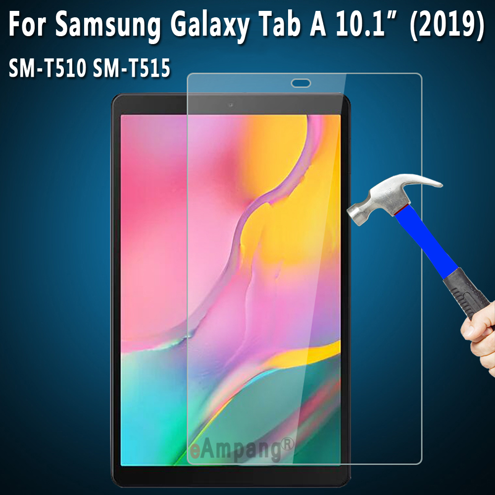 9H HD Explosion proof Tempered Glass For Samsung Galaxy Tab A 10.1  2019 T510 T515 SM T510 SM T515 Tablet Screen Protector|Tablet Screen Protectors| |  - title=
