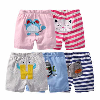 5pcs/lot 100% Cotton Baby Shorts Newborn Baby Boys Cartoon Pants Summer Cute Baby Girl Bloomers Bebes Infant Toddler Clothing - Category 🛒 Mother & Kids