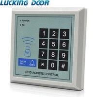 LUCKING DEUR RFID Toegangscontrole Systeem Apparaat Machine Security 125Khz RFID Proximity Entry Deurvergrendeling 1000 gebruiker