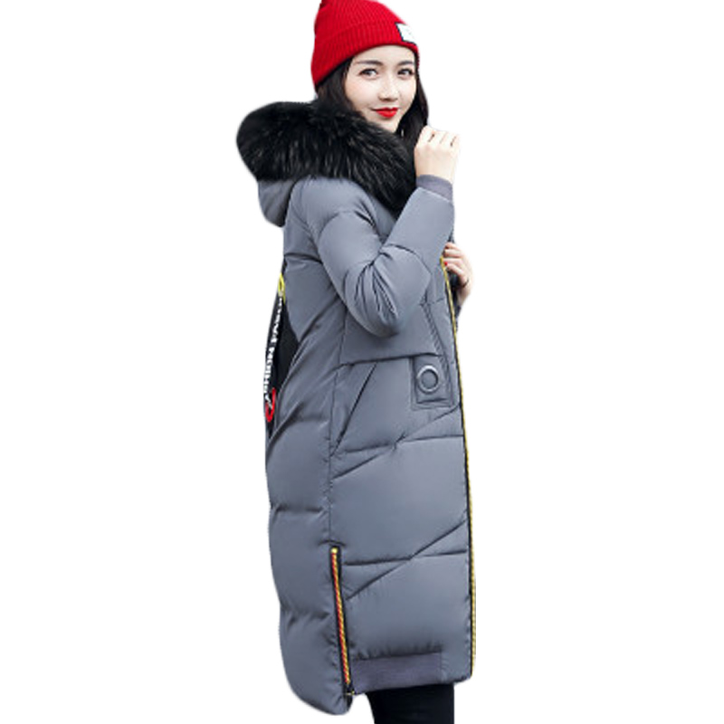 Winter Clothes Big Size Wadded Jacket Women Hooded Zippers Parkas