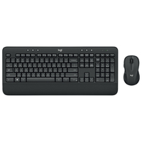 Logitech MK545 wireless mouse and keyboard set waterproof superior comfort palm rest