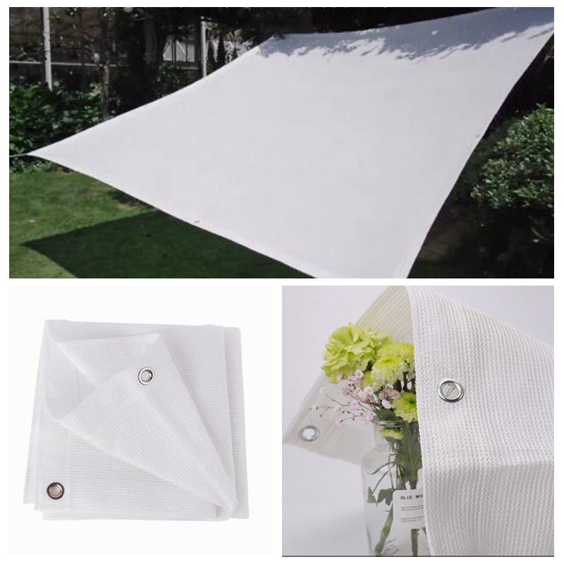 High Quality White Anti-UV HDPE Sunshade Net Home Balcony Succulent Plant Protection Cover Garden Sunscreen Sunblock Shading Net